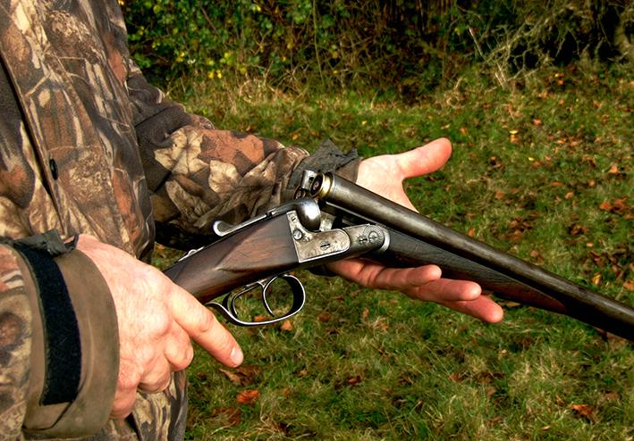 cazando perdiz a la mano la Mancha